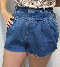Calvin Klein 90s Vintage High Waist Mom Jeans DIY Cut-Off Denim Shorts NWT