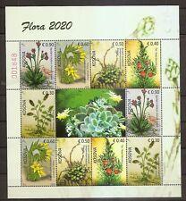KOSOVO 2020,FLORA,PLANTS,,MNH
