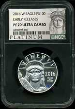 2016-W $100 Proof Platinum American Eagle PF 70 Ultra Cameo NGC 4396395-017