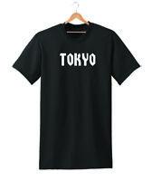 TOKYO SLOGAN T SHIRT TEE WOMENS UNISEX TUMBLR HIPSTER HOLIDAY LADIES CITY DOPE