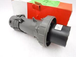 Legrand Pass Seymour Watertight Plug 60A Pin and Sleeve Mechanical Interlock