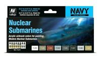 AV Vallejo Nuclear Submarines Acrylic Paint Set For Models