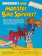 Monster Cereal Bike Spinners Vintage High Quality Metal Magnet 3 x 4 inches 9435