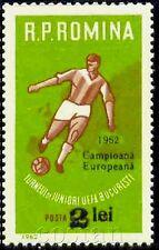 1962 Football,UEFA European Junior Champs Winner,Fußball,Romania,2095,surch.,MNH
