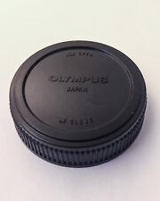Genuine Olympus OM Rear Lens Cap (Black)
