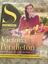 S magazine 2014 Victoria Pendleton Janet Devlin Ian Waite Chris Tarrant