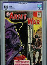 Army at War #91 CBCS 5.5 DC Comics Silver Age1960 All Sgt Rock Joe Kubert