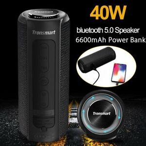 Tronsmart Element T6 Plus 40W bluetooth 5.0 Stereo Speaker Waterproof Subwoofer