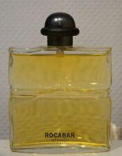 parfum ROCABAR HERMES 100ml Homme eau toilette flacon vaporisateur verre vintage