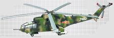 F-Toys 602098-3c Hubschrauber Mil MI-24A Vietnamesische Luftwaffe 1/144
