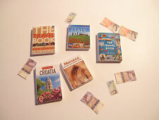 DOLLS HOUSE MINIATURE  BOOKS SET 7