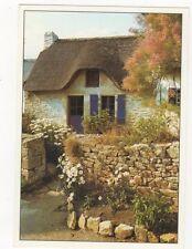 Chaumiere de Basse Bretagne Ile Aux Moines France 1999 Postcard 388a