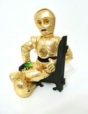 NWT Vintage Star Wars 1997 Plush Gold C3PO Posable Figure Doll Beanie