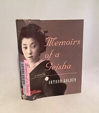 Memoirs of a Geisha-Arthur Golden-SIGNED!!-TRUE First Edition/1st Printing-RARE