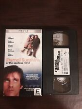 Eternal Sunshine Of The Spotless Mind Vhs 2004 Universal Release Rare