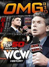 WWE - Omg! The Top 50 Incidents In WWE History : Vol 2 (Blu-ray, 2014, 2-Disc Set)
