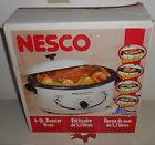 New Nesco 6 Qt Roaster Oven White Porcelain 4116-14 Made In Usa photo