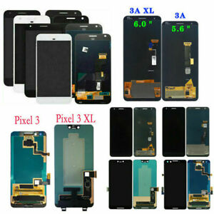 For Google Pixel 1 2 3 3A 4 XL Replace OLED LCD Touch Screen Assembly Digitizer