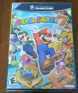 Mario Party 7 (GameCube, 2005) Case and Manual Only, NO GAME DISC!