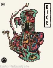 DicE magazine #68 magazine harley shovelhead panhead knucklehead chopper Triumph