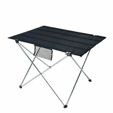 Portable Folding Camping Picnic Table Desk Aluminum Outdoor Dining Baking Gear T