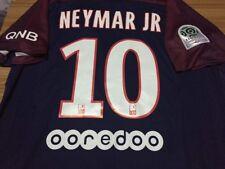 Neymar JR #10 PSG Shirt adults BNWT 17/18 Home Season Shirt S M L XL XXL