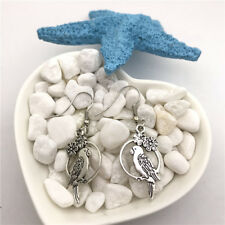 Parrot Earrings Tibet silver Charms Earrings Charm Earrings for Her