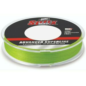 Sufix 660-120L Sufix 832 Braid 20 lb Neon Lime 300 yards