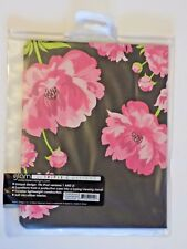 iPad 1 & 2 Universal Midnight Blossom Pink Flower Case With Typing Viewing Stand