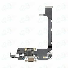 iPhone 11 Pro Max Gold Charging Port Dock Connector Flex for A2218, A2161