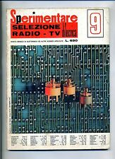 SPERIMENTARE # N.9 Settembre 1973 # Rivista Mensile Elettronica Elettrotecnica