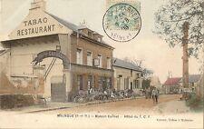 CARTE POSTALE BUREAU DE TABAC MALNOUE MAISON CORNET HOTEL DU T.C.F