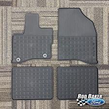 Black Coverking Custom Fit Front and Rear Floor Mats for Select Taurus Models CFMBX1FD7940 Nylon Carpet