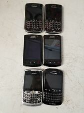 LOT OF 6 VERIZON BLACKBERRYS 1BB STORM1-1BB STORM 2 -2BB 9630 -1BB 9370-1BB 8330