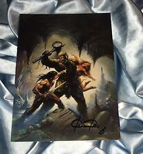 CONAN THE BARBARIAN~FPG COLOSSAL CARD SIGNED BY KEN KELLY #3~LION/'S DEN~FEMALE