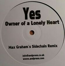 """Yes  """"Owner of a Lonely Heart""""  * Max Graham`s Sidechain Remix / single sided"""