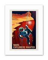 NASA POSTER SPACE EXPLORATION JOB ADVERT EXPLORERS 24 x 38.4 /'/' LARGE LLF0858