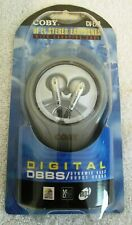 Coby Earphones CV-E20 Hi-FI Stereo Earphones with Carrying Case BRAND NEW!!