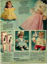 1976 PAPER AD Doll Baby Softee Kiss Me Agatha Annette Dearest Infant Mama Papa