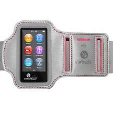 Yurbuds Sport Armband for Women for iPod Nano 7th Gen - Silver/ Pink