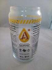Austin Beer Works Beer Pint Glass, Beer Can Glass Heavy Machinery Craft Brewery