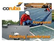 Rubber Roofing Membrane CORUSEAL EPDM - 10m L x 1.5m W x 1.15mm T - Coruba