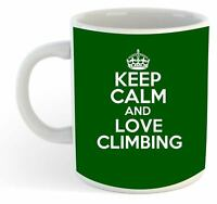 Keep Calm And Love Escalada Taza - Verde