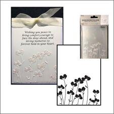 Flowers embossing folder - Darice embossing folders 30032605 poppy border
