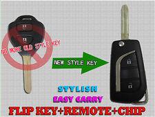 NEW Toyota HILUX 2009 - 2014 Remote Flip Key Transmitter Fob B41Th G Chip