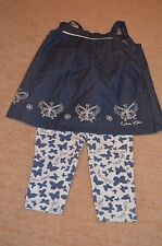 NWOT Calvin Klein Jeans summer 2-piece outfit baby girl size 3-6 month  MSRP $44