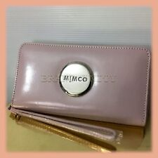 Mimco LARGE MIM ZIP WALLET CLUCTH PURSE Brand New RRP$249 BALLERINA SILVER