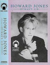 HOWARD JONES HUMAN'S LIB IMPORT SAUDI IMD CASSETTE ALBUM  New Wave, Synth-pop