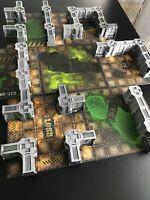 NECROMUNDA Kit de décors 3D pour plateau de jeu (non peint)