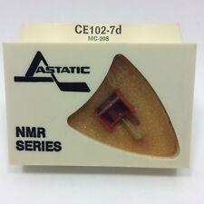 CEC  MC-20S  phono needle  IN ASTATIC PKG CE102-7D, NOS/NIB
